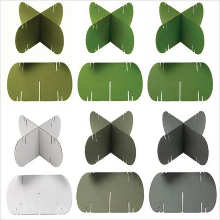 درست کردن پارتیشن های کاغذی, مراحل ساخت پارتیشن