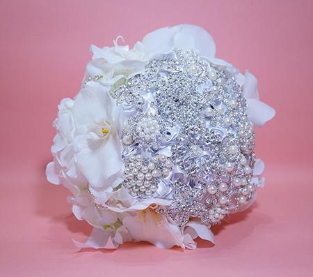 مدل دسته گل های عروس, دسته گل های عروس سفید