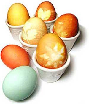 تخم مرغ های سفـره هـفت سیـن