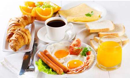 چند مدل تزئین تخم مرغ صبحانه