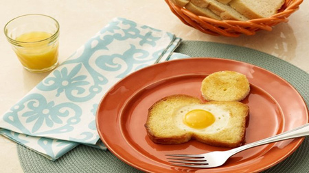 تزیین تخم مرغ,تزیین صبحانه