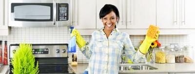 تمیز کردن آشپزخانه برای عید نوروز,تمیز کردن آشپزخانه با مواد طبیعی