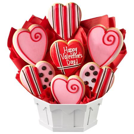 تزیین شیرینی های ولنتاین, مدل تزیین شیرینی روز عشق