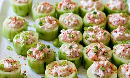 عکس تزیین ماست و خیار, تزیین ماست با سبزیجات