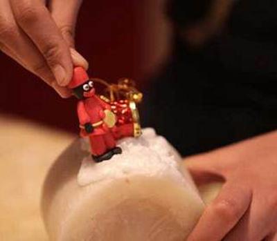 اموزش بافت عروسک حاجی فیروز, اموزش ساخت شمع حاجی فیروز
