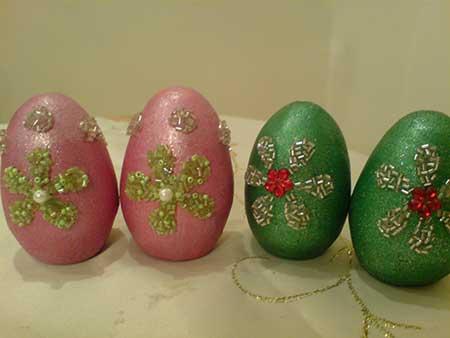 تخم مرغ رنگی عید, عکس تخم مرغ تزیین شده نوروز
