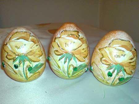 تخم مرغ رنگارنگ عید, مدل تخم مرغ رنگی