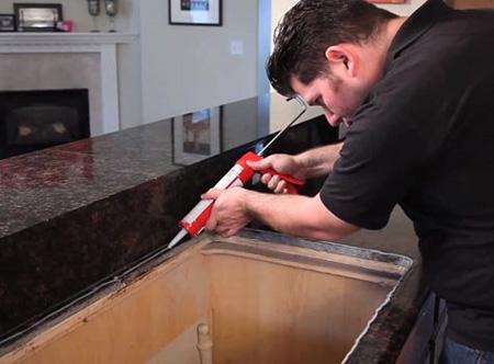 آموزش تعویض سینک ظرفشویی,مراحل تعویض سینک ظرفشویی