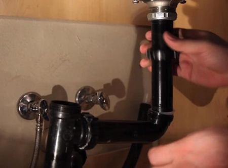 تعویض سینک آشپزخانه,آموزش تعویض سینک ظرفشویی