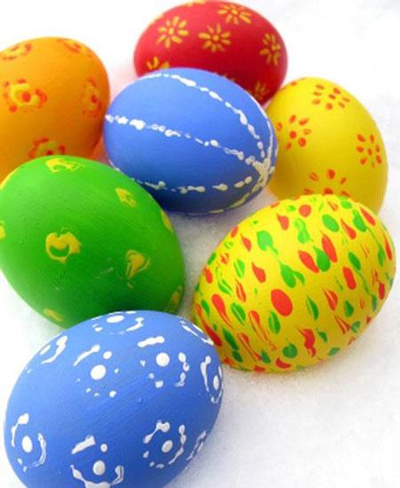 تزیین تخم مرغ 95 هفت سین با دکمه, تزیین تخم مرغ 95 هفت سین به شکل آدمک 95