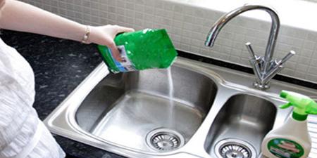 نظم دهی به آشپزخانه, نکاتی برای تمیز کردن آشپزخانه