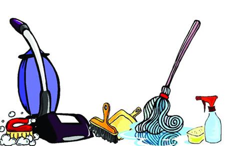برنامه ریزی خانه تکانی عید,طریقه خانه تکانی