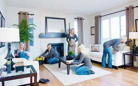 نحوه برنامه ریزی خانه تکانی, مهارت های خانه تکانی