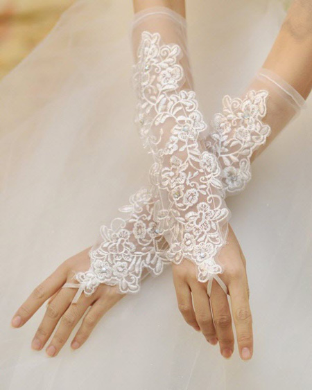 شیک ترین دستکش های ست عروس, دستکش های مناسب لباس عروس