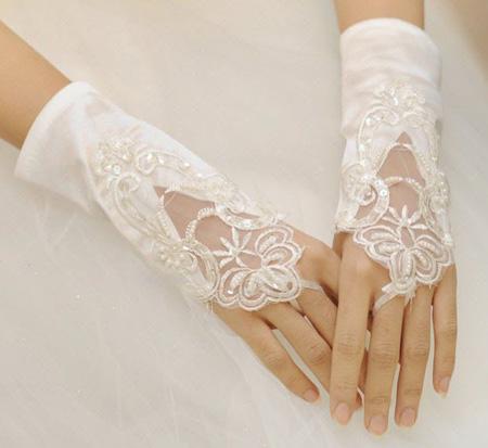 مدل دستکش عروس