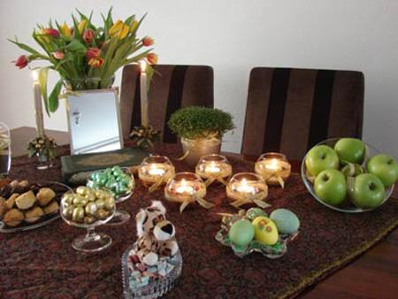 عکس از سفره عید نوروز, انواع سفره های شب عید