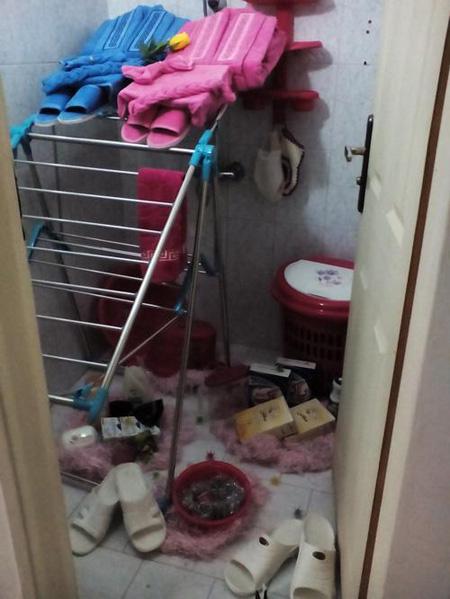 نحوه تزیین حمام عروس, تزیین سرویس بهداشتی عروس