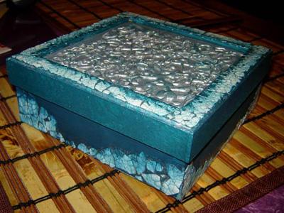 نحوه ساخت جعبه تزیینی,درست کردن جعبه تزیینی با مواد دورریختنی