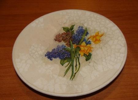 تزیین ظروف با پوسته تخم مرغ, آموزش تزیین ظروف شیشه ای