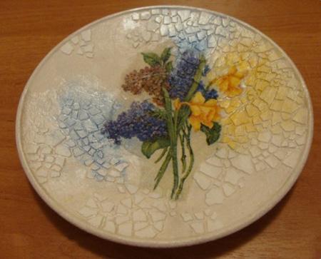 نحوه تزیین ظروف با پوسته تخم مرغ,تزئین ظروف شیشه ای با پوسته تخم مرغ