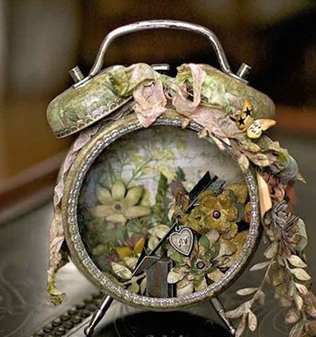 ساخت دکوری های تزیینی,کاربرد ساعت کوکی قدیمی