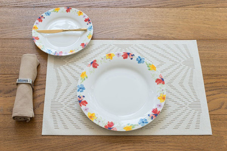تکنیک های چیدمان میز صبحانه شیک, اصول چیدمان میز صبحانه