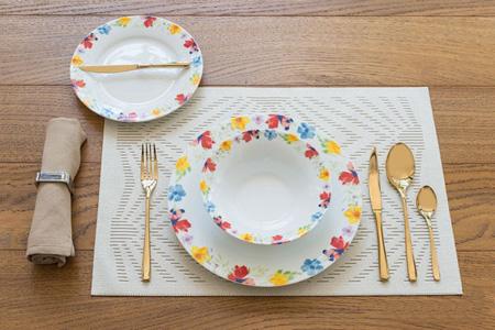 نکاتی برای چیدمان میز صبحانه, راهنمای چینش میز صبحانه