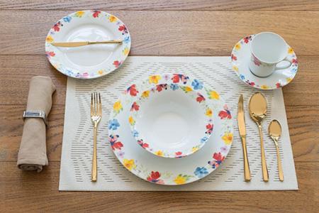 اصول و نحوه چیدمان میز صبحانه,تکنیک های چیدمان میز صبحانه مجلل