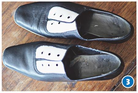 تغییر ظاهر کفش با رنگ, رنگ کردن کفش های ساده و قدیمی