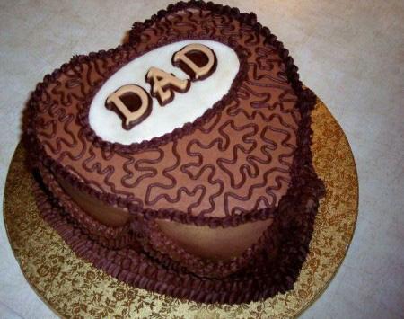 کيک روز پدر