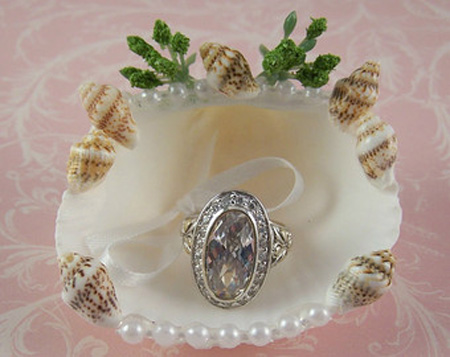 تزیینات زیبای حلقه ازدواج, ایده هایی برای تزیین حلقه