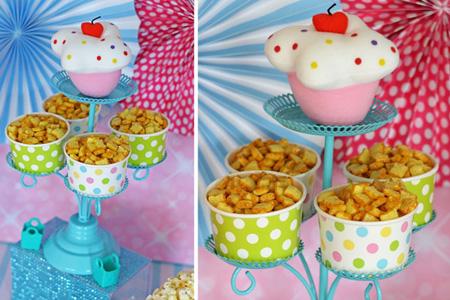 تزیین میوه و خوراکی های جشن تولد