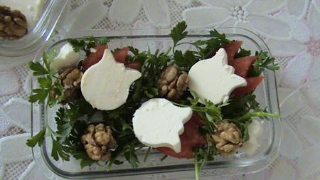 ایده های تزیین پنیر برای افطار,مدل تزیین پنیر