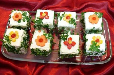 تصاویر تزیین پنیر افطاری, نحوه تزیین پنیر و سبزی