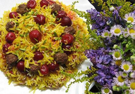 نمونه هایی زیبا از تزیینات غذای سفره های ایرانی
