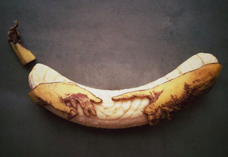 تزیین موز به شکل حیوان, اشکال مختلف تزیین موز