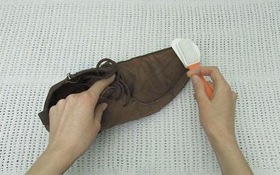 تمیز کردن چربی کفش ها,راه حل هایی برای تمیز کردن کفش ها