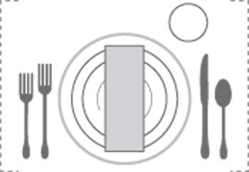 چیدن میز ناهار,چیدمان میز ناهار