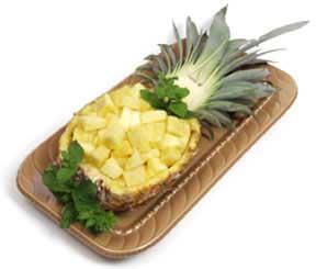 تزئین آناناس برای مناسبتها