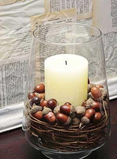 مدل های تزیین شمع, نحوه تزیین کردن شمع