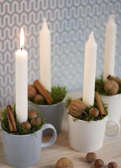 ایده برای تزیین شمع,نحوه تزیین شمع