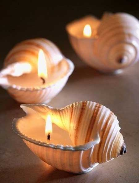 مدل های ساده و زیبای تزیین شمع,تزیین شمع