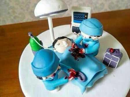 کیک روز پزشک,تصاویر کیک روز پزشک