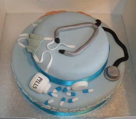 کیک برا روز پزشک, مدل کیک روز پزشک
