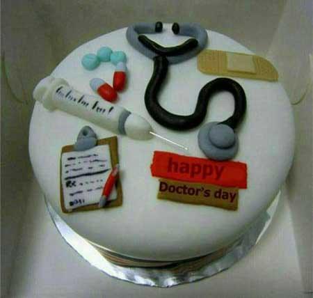 کیک سالروز روز پزشک, کیک مناسب روز پزشک