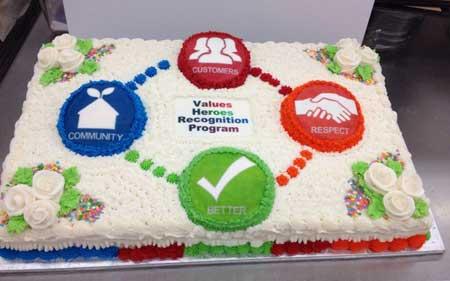ایده برای کیک روز کارمند, کیک ویژه روز کارمند