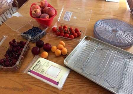 خشک کردن میوه ها در تابستان,نحوه خشک کردن میوه ها در آفتاب
