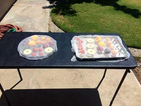 تکنیک های خشک کردن میوه ها, وسایل لازم برای خشک کردن میوه ها