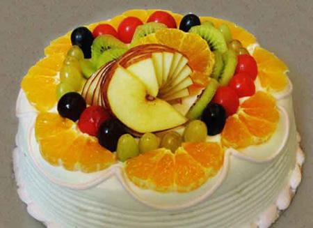 تزیین کیک تولد با میوه|تزیین کیک با میوه