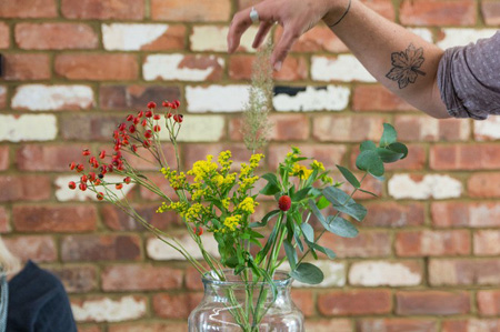 تزیین دسته گل در خانه, مراحل تزیین دسته گل